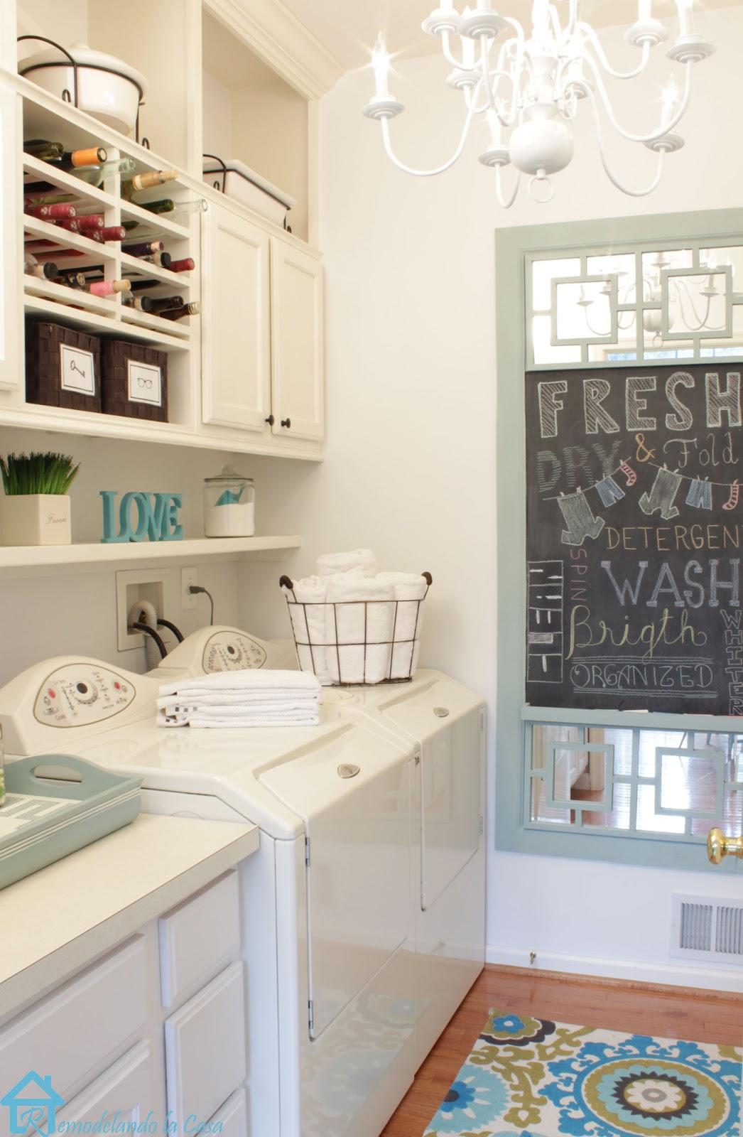 Remodelando la Casa: Diy Chalkboard with Tray