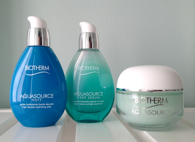 Biotherm Aquasource - Deep Hydration Replenishing Gel, Nuit High Density Hydrating Jelly and Deep Serum