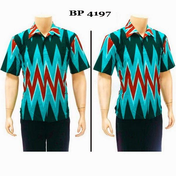 Baju Hem Batik Pria BP4197