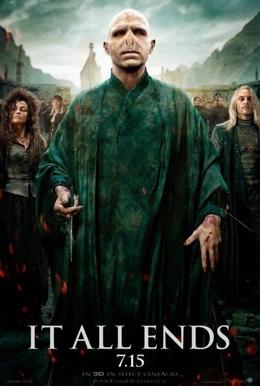 Voldemort Harry Potter Deathly Hallows 2 poster
