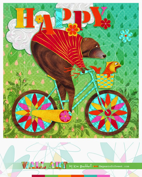 Happy Bike Bear