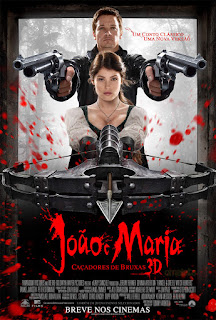 """Poster do filme """"João e Maria - Caçadores de Bruxas"""