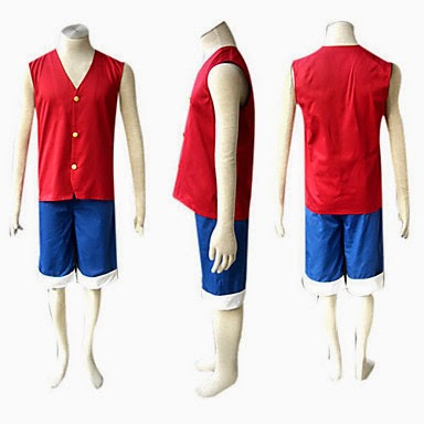 Cosplay Luffy One Piece
