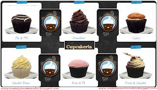 cupcakes românticos