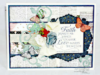 Stamps - Our Daily Bread Designs Ornate Borders and Flowers, Ornate Borders & Flower Die,ODBD Custom Fancy Foliage Die, Quote Collection 3, Faith