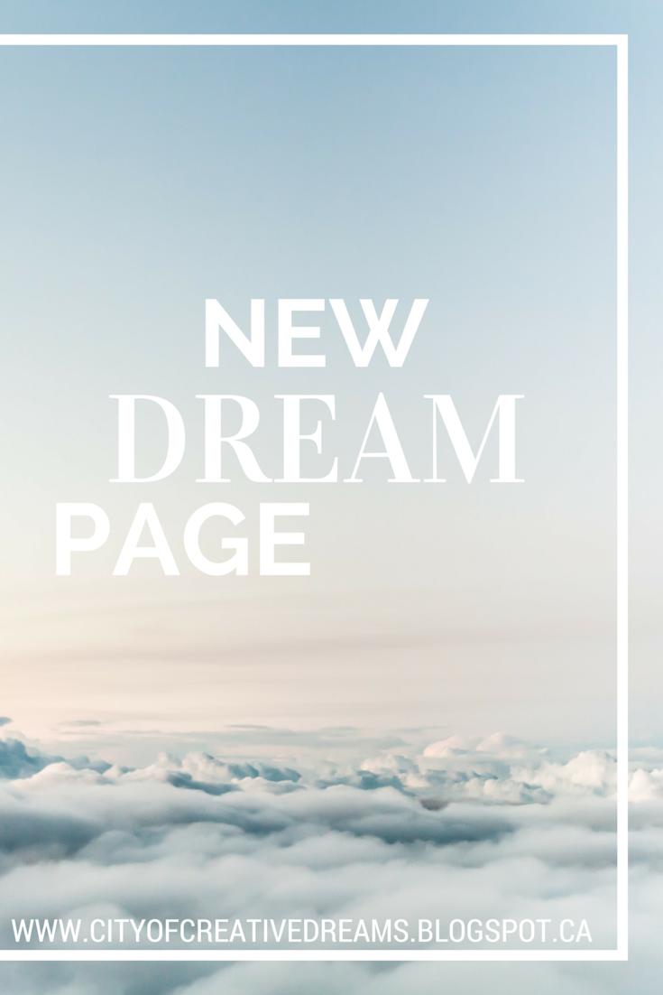 city of creative dreams, dream page