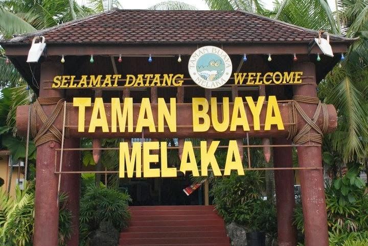 Taman Buaya di Melaka Taman Buaya Rekreasi Melaka