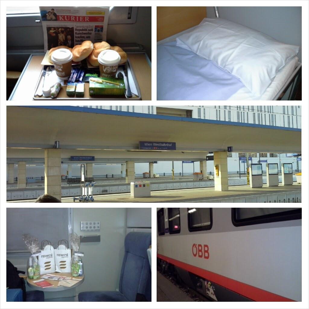 Viaggiare in treno con OBB