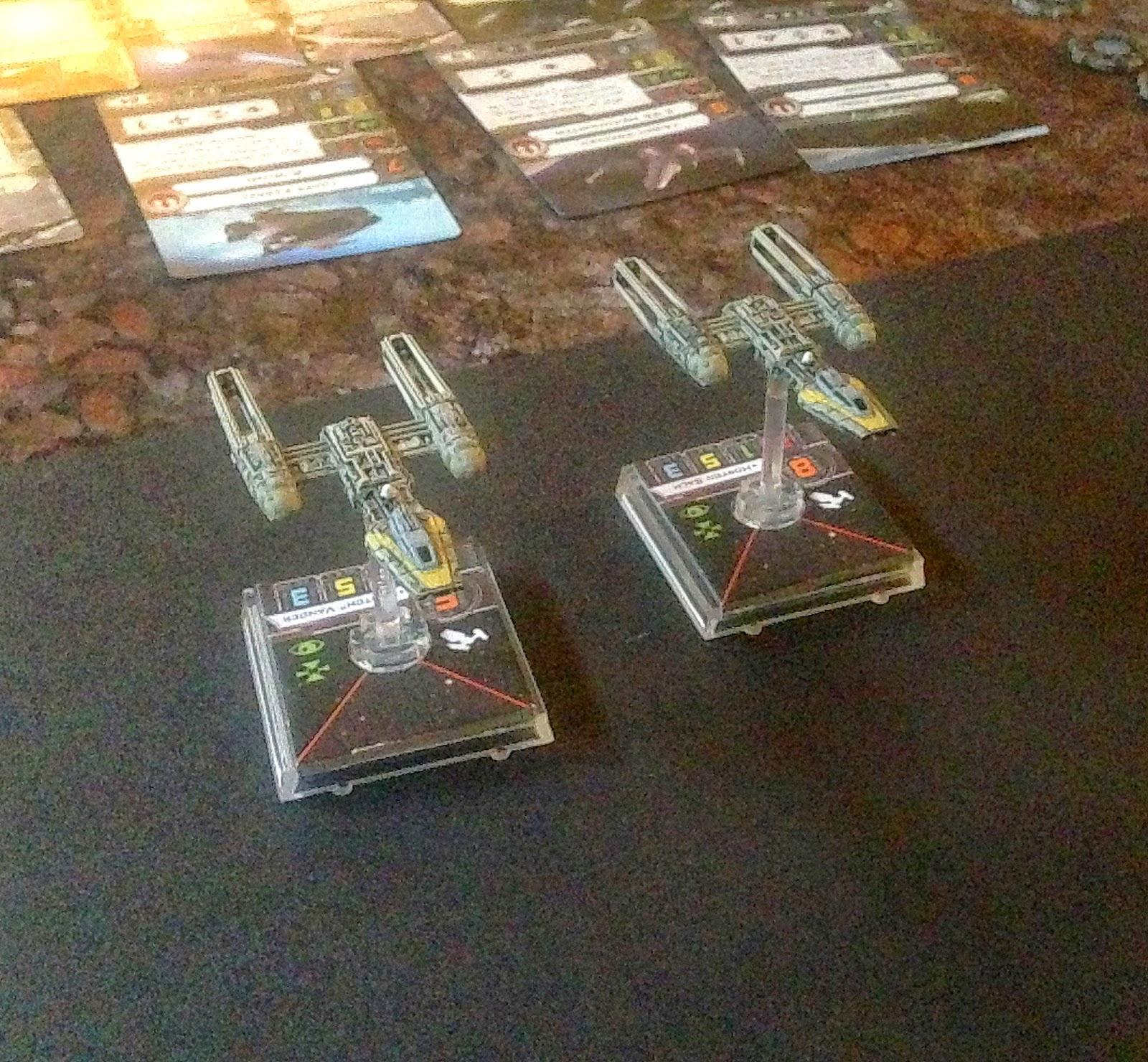 Batlte Gaming One, Y-wings, Death Star