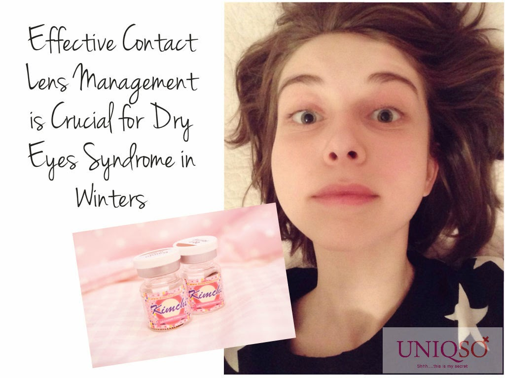Contact lenses & dry eyes syndrome