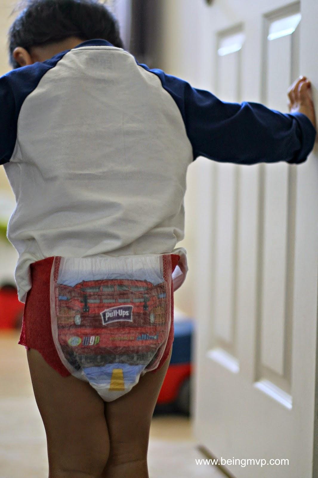 Huggies pull ups diapers car tuning - Jan