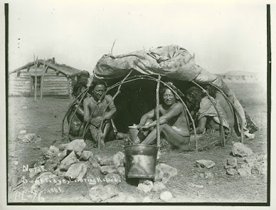 1898 Native American Sweatlodge