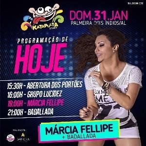 Márcia Fellipe - No Katapulta - 01.02.2016