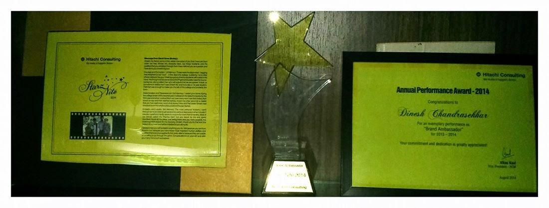 HCC Annual Performance Award 2014