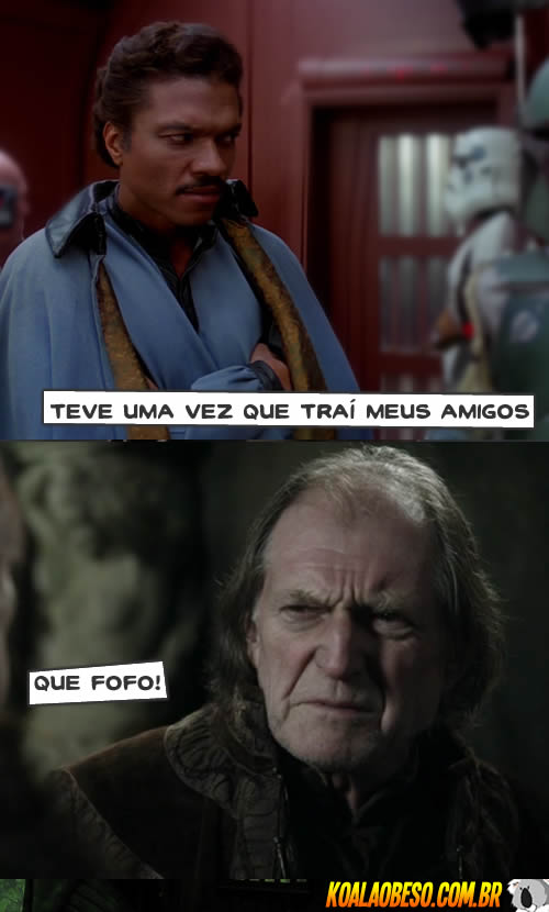 Star Wars X Game of Thrones - Lando X Walder Frey