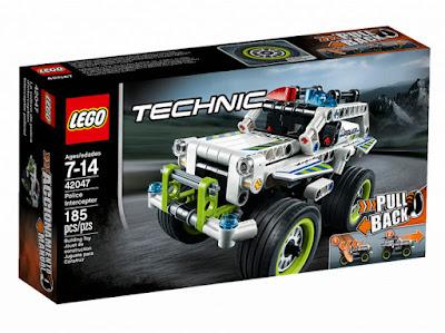 TOYS : JUGUETES - LEGO Technic  42047 Vehículo Interceptor Policial | Police Interceptor  Producto Oficial 2016 | Piezas: 185 | Edad: 7-14 años  Comprar en Amazon España & buy Amazon USA