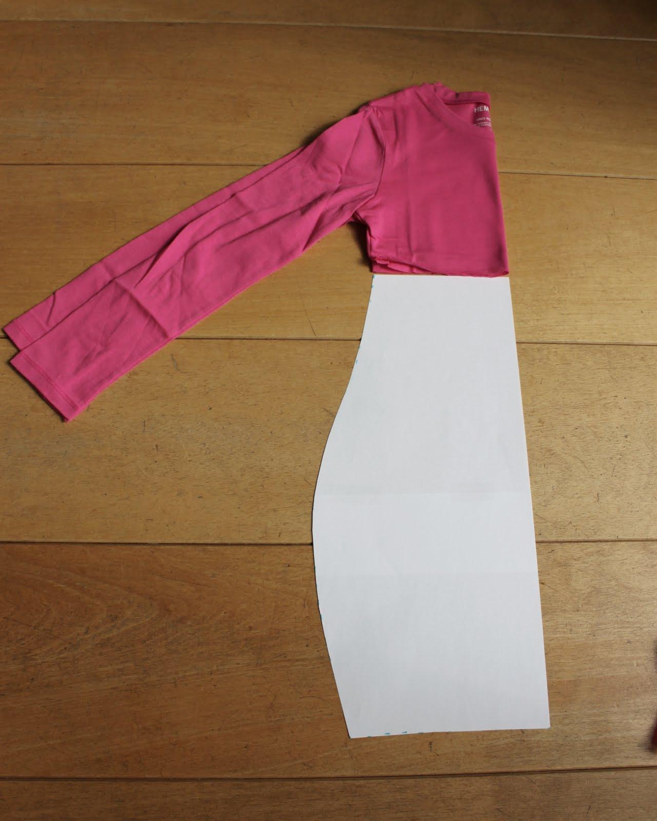 Van jansen hoe maak ik een t shirt jurkje - Maak een hoofdbord aan ...