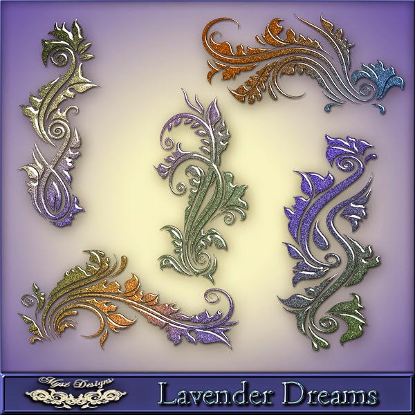 Lavender Dreams Swirls