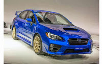 Subaru STI 2015, Has the Gut to Show