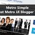 Metro Simple – The simplest Metro UI Blogger Templates