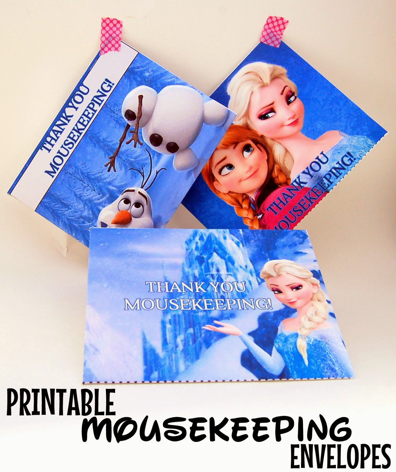 image regarding Disney Printable Envelopes named PaperLark Studio: Totally free Printable Frozen Mousekeeping Envelopes