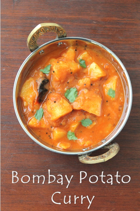 bombay potato curry recipe no onion and no garlic sabji
