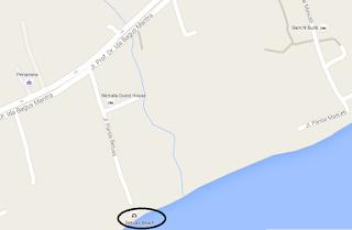 Lokasi Pantai Betuas