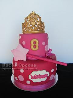 Bolo do 8º aniversário da princesa Bárbara