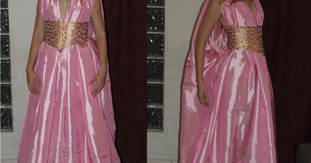 I Do Things I Love: Daenerys Qarth Dress Update!!