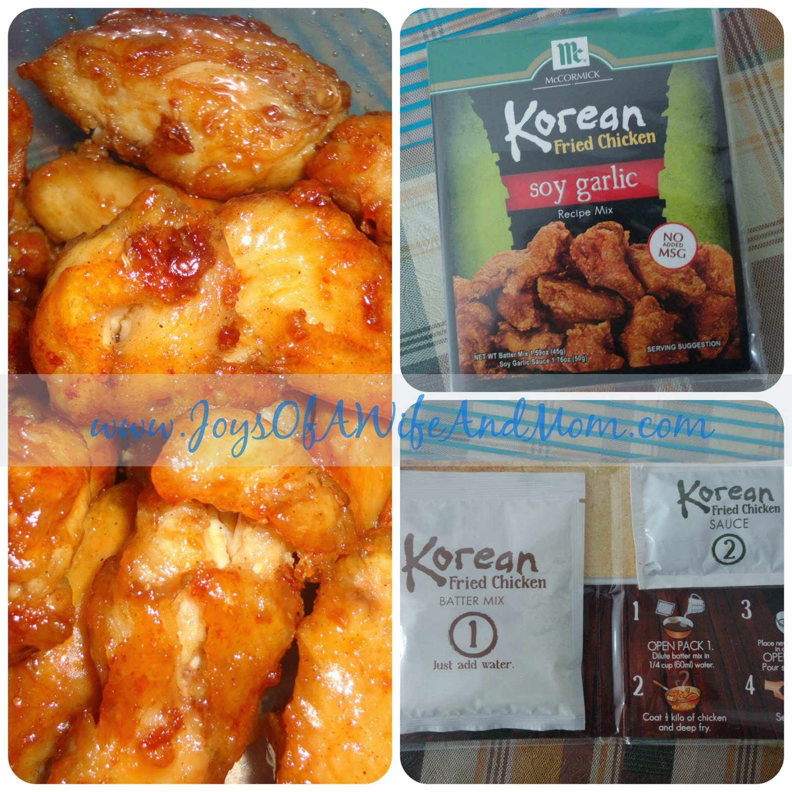 McCormick Korean Fried Chicken in Soy Garlic Flavor