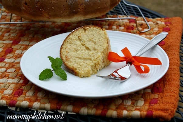 Cup Of Sweet Potato Pound Cake In Oz