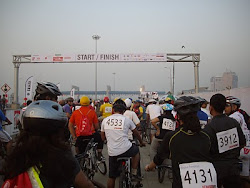 "Start of ""28Kms amateur Ride'.(Sunday 13-2-2011)"