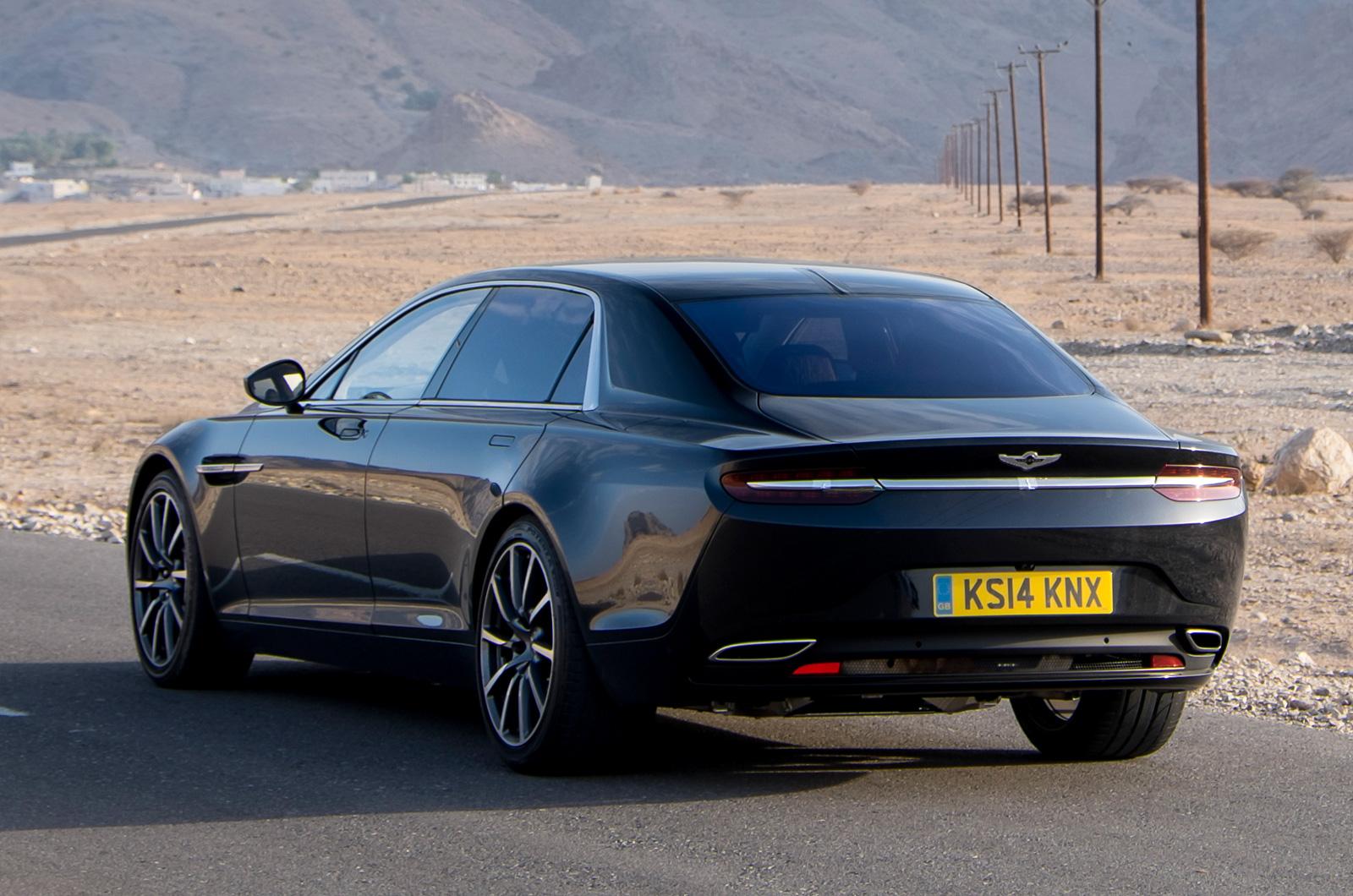 Aston Martin Shows New Lagonda Sedan 30 s