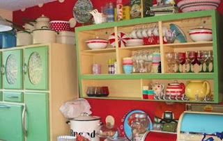 Interior painted kitchen cabinets another color