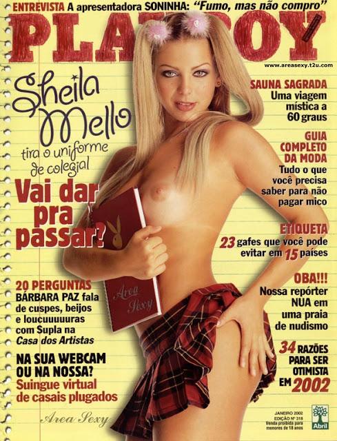 Sheila Mello - Playboy 2002