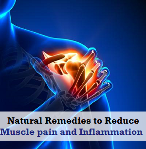 Natural Remedies to reduce Muscle pain and Inflammation