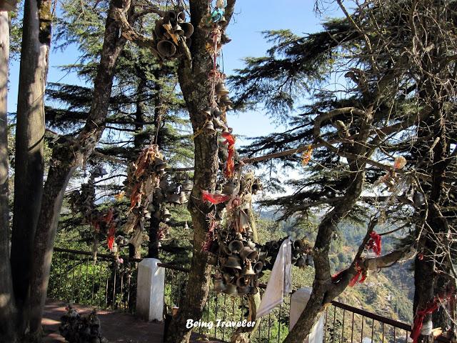 Bells Tied in Mukteshwar Dham