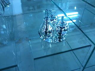 foto de vidro cristal incolor