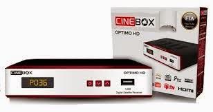 CINEBOX OPTIMO HD NOVA ATUALIZAÇÃO - 25/04/2014