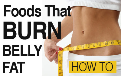 Belly fat burning natural foods