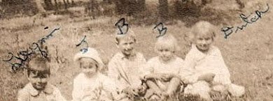 Bonnie as a child {4th from left}