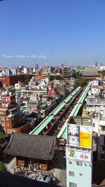 Asakusa dall'alto