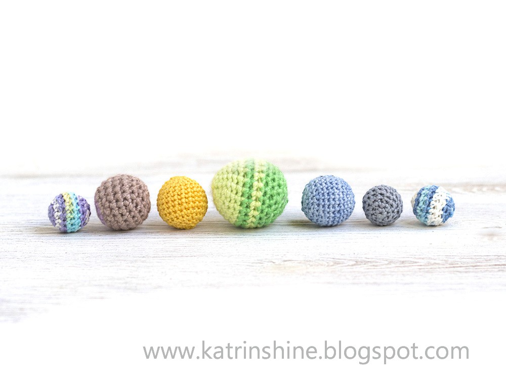 Katrinshine How To Make Crochet Ball