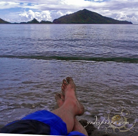 Foot notes Feet Shot at Silanguin Cove Zambales hover_share