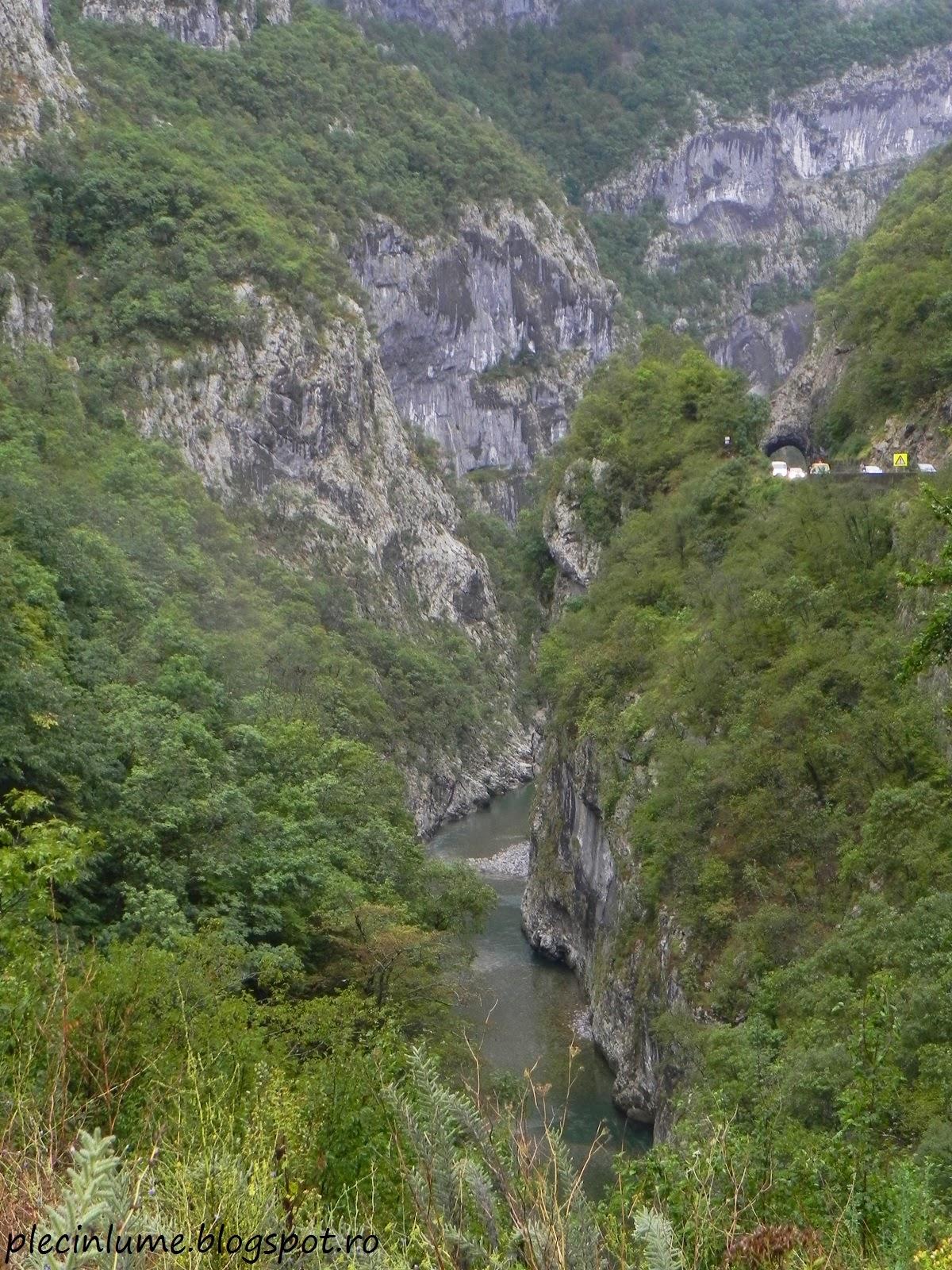 Canionul Moraca, Muntenegru