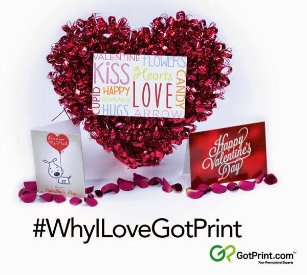 GotPrint Valentine's Day Promotion #WhyILoveGotPrint