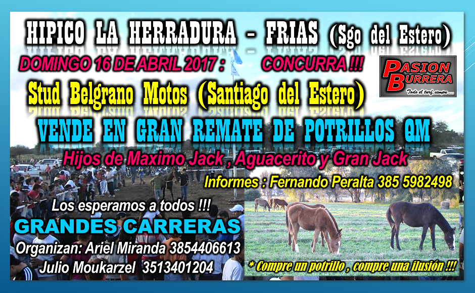 REMATE BELGRANO MOTOS - FRIAS 16 ABRIL