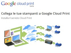 Condividere una stampante con Google Cloud Print su Windows
