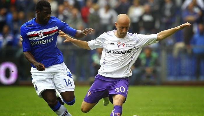 Fiorentina vs Sampdoria en vivo