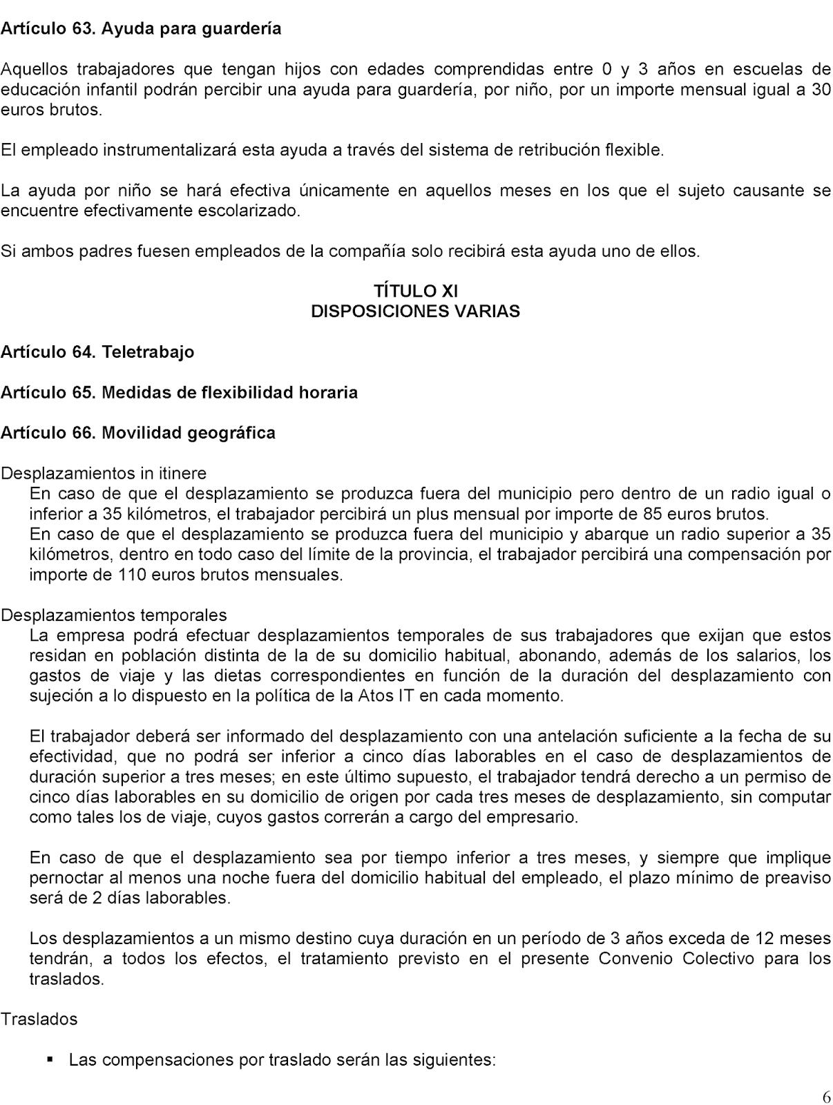 GAtos Sindicales: AtoS IT: I Convenio Colectivo